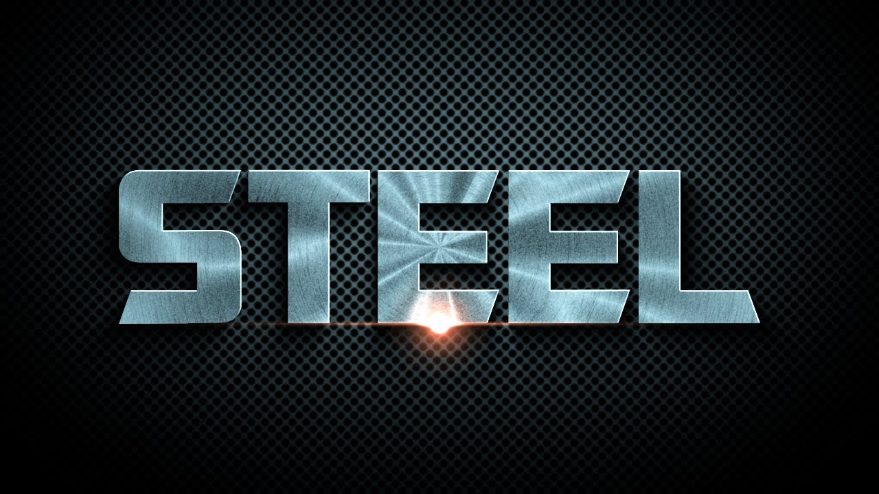 FREE After Effects Template 4 Steel Logo Reveal YouTube