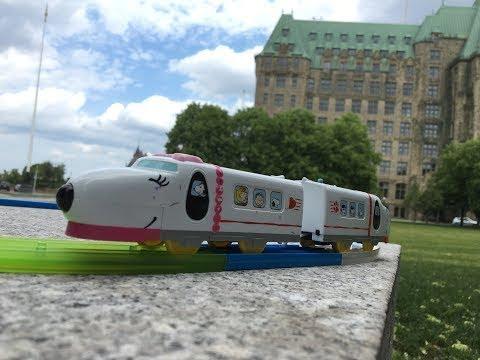 Plarail Snoopy Express visita Corte Suprema del Canada, Ottawa, Canada【il treno】02788+it
