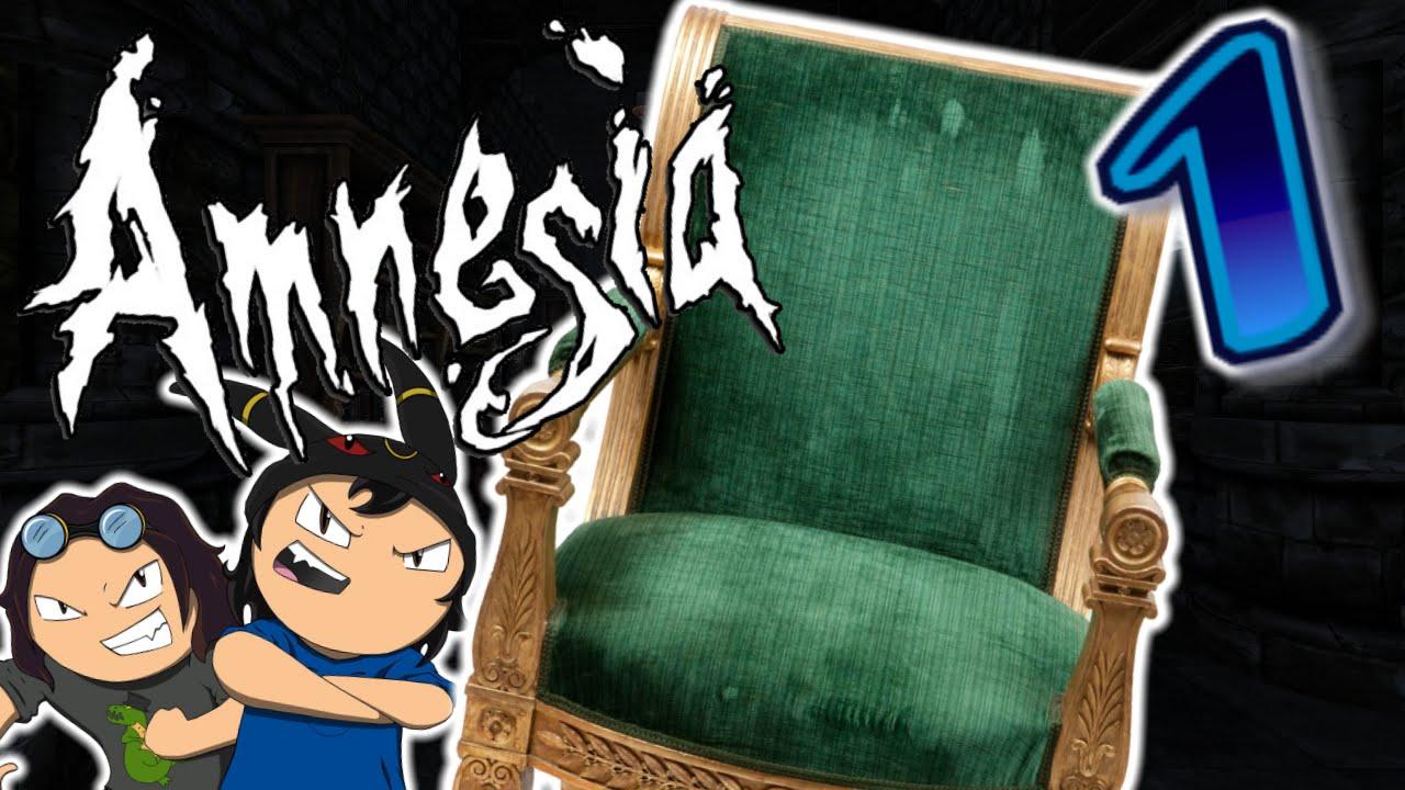 Amnesia: The Dark Descent (PART 1) - Philip the Chair ...