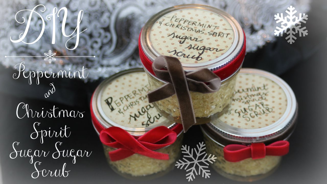 Young Living Christmas Spirit.Diy Peppermint Christmas Spirit Sugar Sugar Scrub