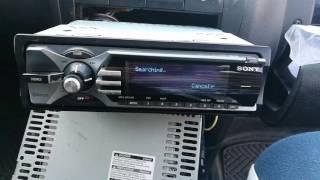 Sony mex-bt5100 car radio