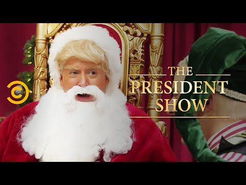 Deck the Malls - The President Show
