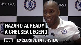 Gambar cover Drogba: Hazard is already a Chelsea legend