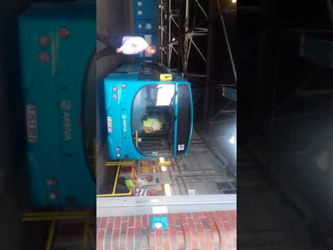 Arriva Buses Returning To Tamworth Depot Yesterday After 90th Event