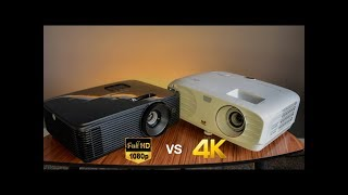 A Good 1080P Projector vs A Budget 4K Projector - Is it worth spending more?