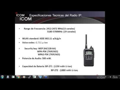 Radios por IP de Icom  1