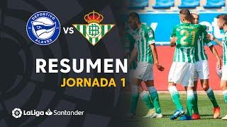 Resumen de Deportivo Alavés vs Real Betis (0-1)
