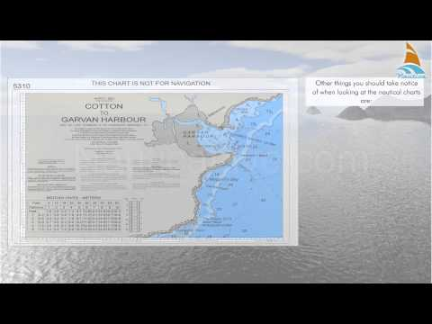 11   reading  the nautical charts depth note