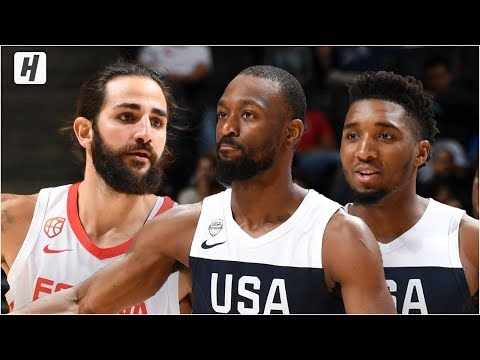 USA vs Spain – Full Game  Highlights – August 16, 2019 | USA Basketball