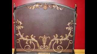 One Of A Kind Fireplace Screens