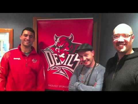 Interview with Cardiff Devils' Paul Bissonnette 9th November 2012