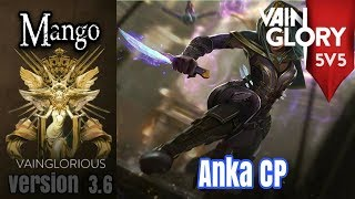 5v5 Mango | Anka CP - Vainglory hero gameplay from a pro player