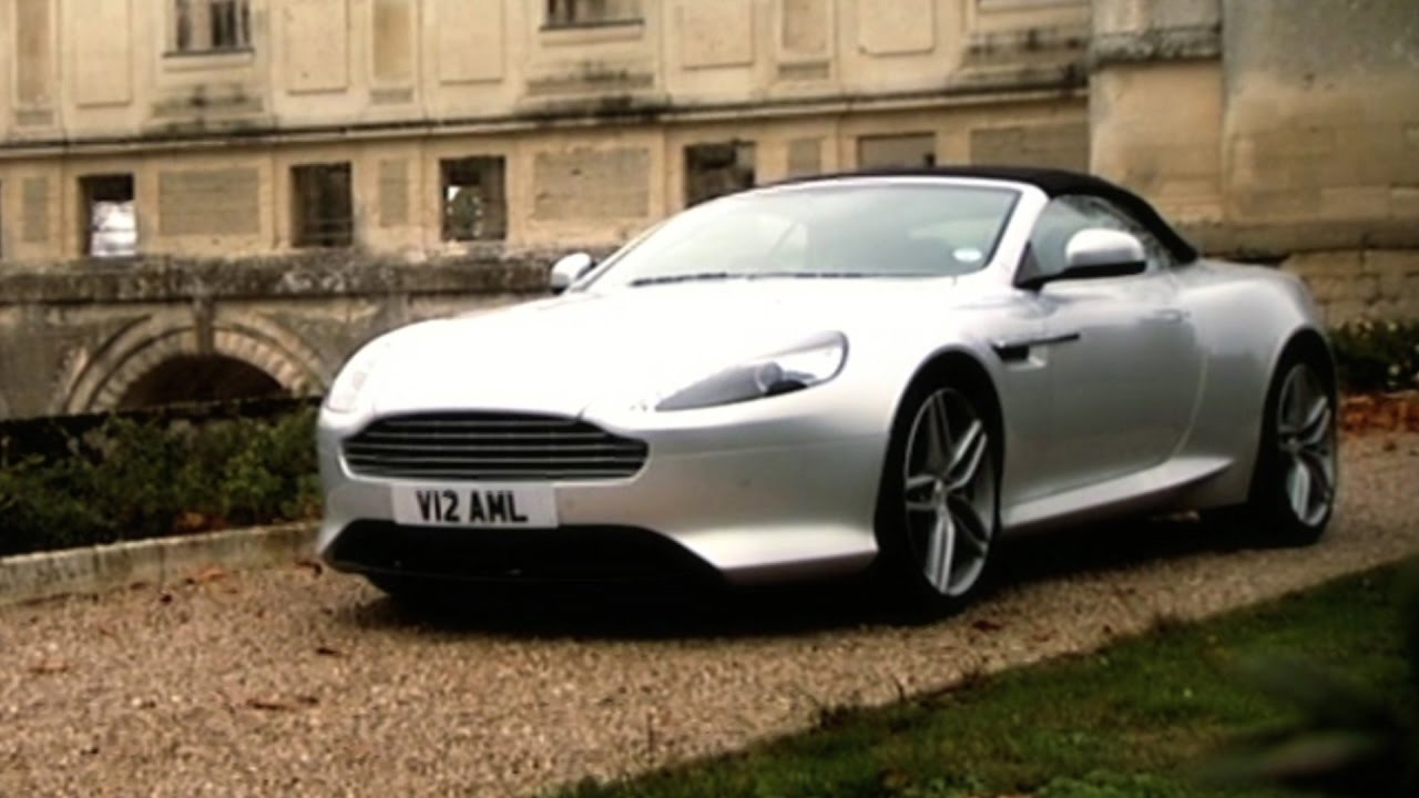 the aston martin virage volante fifth gear youtube. Black Bedroom Furniture Sets. Home Design Ideas