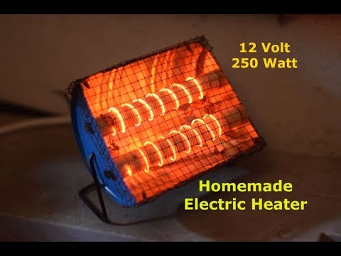 Room Heater - How to make DC Room Heater - Homemade Space Heater