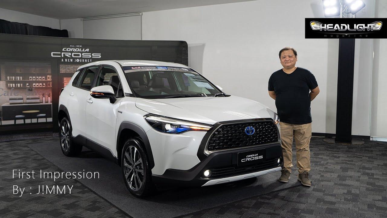 ทดลองขับ Toyota Corolla CROSS by J!MMY | Headlightmag Review Clip