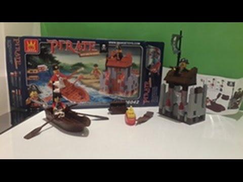 Pirate wange 146 par a lego set a ma lego korsan denizci tan t m youtube - Ile pirate lego ...