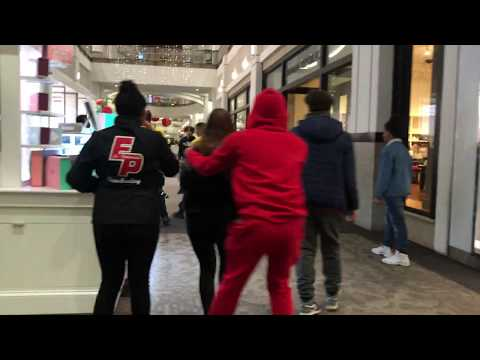Providence Place Mall brawl with security