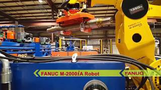 Robot with World's Heaviest Payload Assembles Railroad Axles - Mittler Bros. Machine & Tool