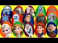 Discovering Princess Play-doh Eggs With Frozen Anna & Elsa