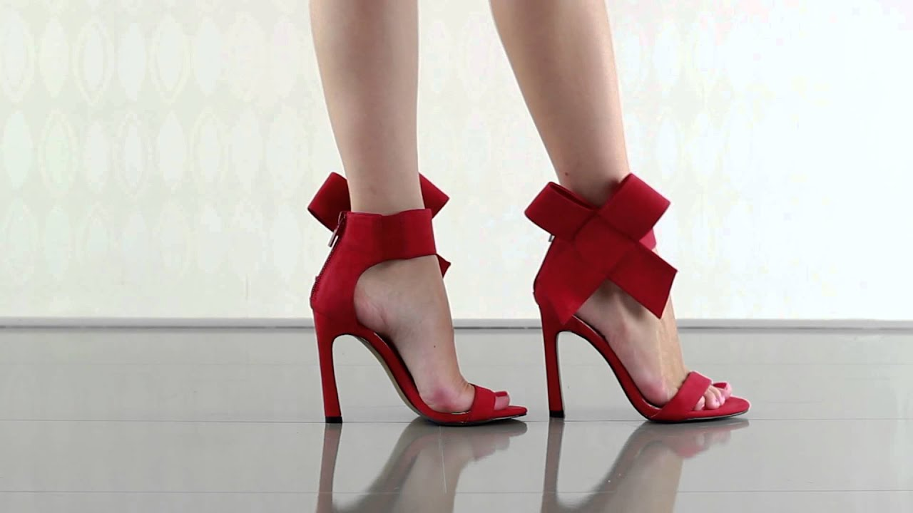 Betsey Johnson Red Bow Shoes
