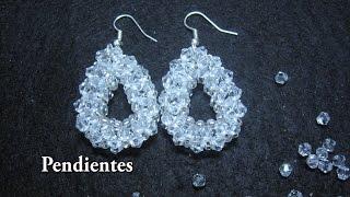 19cdb8005a52 Hermosos Aros de Cristal y Mostacillas...Clase 65!!! - Видео с ...