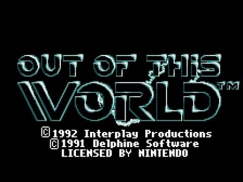 SNES Longplay [350] Out of this World