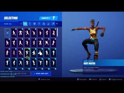 Fortnite Disco Diva With All Owned Emotes
