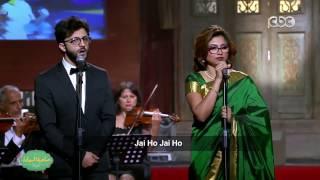 نسمة محجوب تغني بالهندية أغنية فيلم Slumdog Millionaire