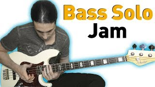 Bass Solo and Jam on the Jazz Bass (The Bass Wizard)