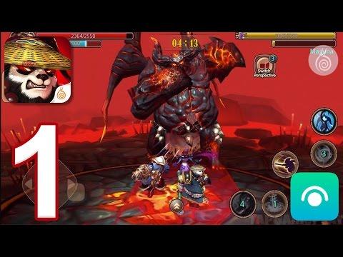 Taichi Panda: Heroes  Gameplay Walkthrough Part 1  Prologue (iOS, Android)