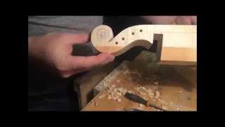 Carving the Violin Scroll: Part I
