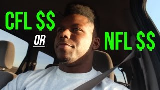 CFL vs. NFL Salary $$ | How Much Do Pro Football Players Get Paid? | EnjoyTheGrind | Enjoy The Grind