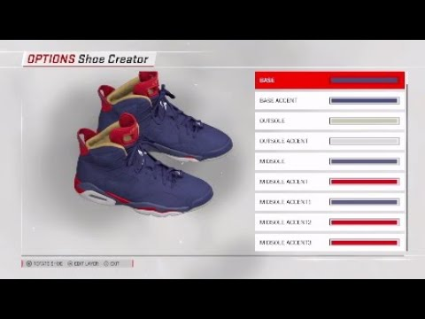 b8cae0a18ad NBA 2K18: Air Jordan 6 Doernbecher Tutorial (Shoe Creator) - YouTube