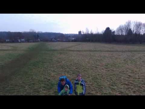 Millennium field 150 metres