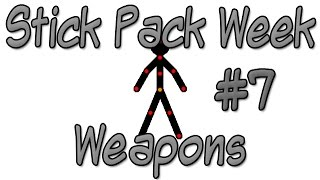 ▼ Stick Pack Week - Weapons #7 - Pivot Stickfigure Animator