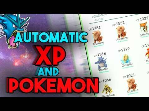Pokemon GO BOT! Automatic RARE POKEMON + XP! Free Lure modules || Hatch Eggs, Farm Pokestop + MORE!