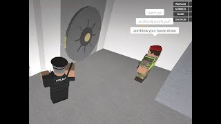 Roblox-Greater Manchester police TFU deal with-incident shots fired!