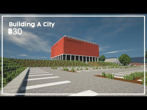 Building A City #30 // Cinema // Minecraft Timelapse