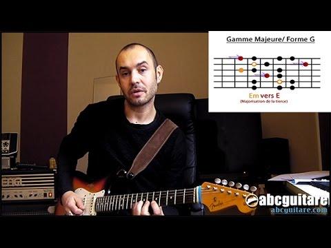 La gamme mineure harmonique. (niveau moyen/avancé) 