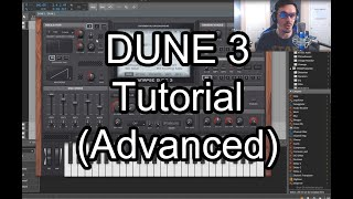 DUNE 3 Tutorial for Advanced Users - Wavetables, FM Synthesis, Multi-Layering, Audio-Rate Modulation