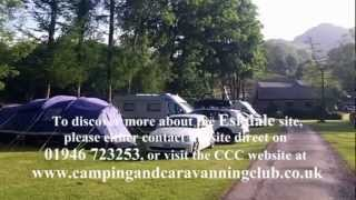 Eskdale CCC Campsite, in Cumbria, England; the Trek and Run Independent Review