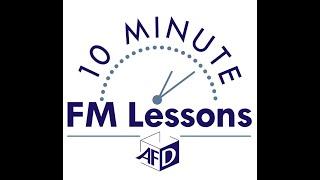 10 Min Lesson FM & Productivity