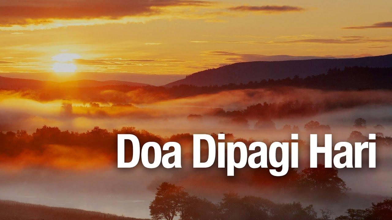 Doa Di Pagi Hari Ustadz Abdullah Zaen Ma Youtube