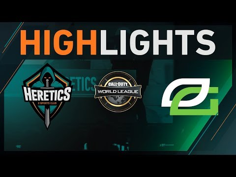 Team Heretics vs OpTic Gaming - Highlights CWL Atlanta