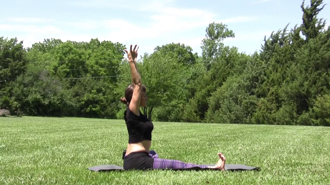 Free yoga video pain relief with jenhilman.com