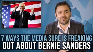 7 Ways The Media Sure Is Freaking Out About Bernie Sanders - SOME MORE NEWS