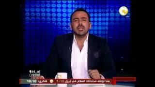 """شاهد..يوسف الحسيني يوجه رسالة لـ""""جابر القرموطي"""" بعد رحيله عن  """"ON TV"""""""