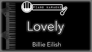 Lovely - Billie Eilish & Khalid - Piano Karaoke