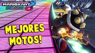 MARIO KART 8 DELUXE: ¡LAS MEJORES MOTOS Y PERSONAJES! | Nintendo Switch