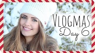 ⛄ Snow Day, How To Film Yourself, Outfit Of The Day | Vlogmas Day 6